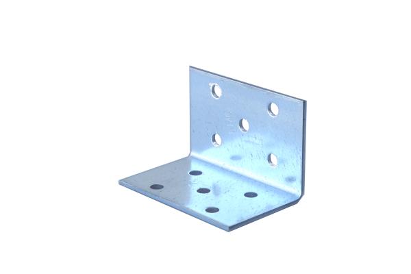 Lochplattenwinkel 40 x 40 x 60 x 2,0 Winkelverbinder