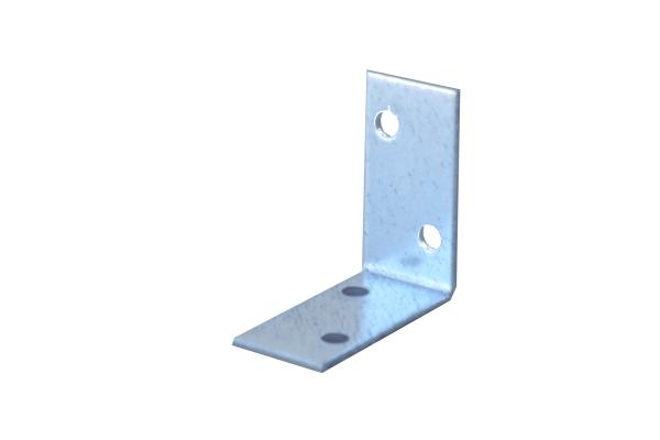Lochplattenwinkel 40 x 40 x 20 x 2,0 Winkelverbinder